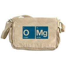Oxygen Magnesium Periodic Table OMG Messenger Bag