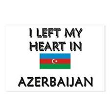 I Left My Heart In Azerbaijan Postcards (Package o