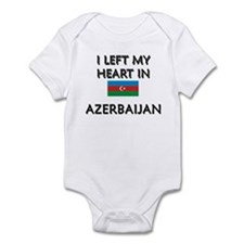 I Left My Heart In Azerbaijan Infant Bodysuit
