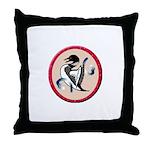 Loon Totem Throw Pillow