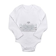 APL keyboard cheat sheet Long Sleeve Infant Bodysu