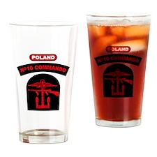 No. 10 Commando ZB B (Red) Drinking Glass