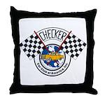 Checker Club Throw Pillow