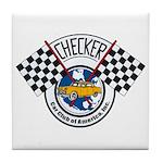 Checker Club Tile Coaster