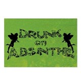 DRUNK-ON-ABSINTHE_pc.png Postcards (Package of 8)
