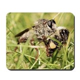 Sacken's Bee Hunter with Prey Mousepad