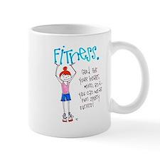 Motivation to Exercise Small Mug