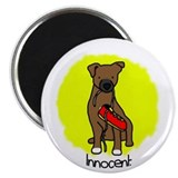 Innocent Patterdale Terrier Magnet