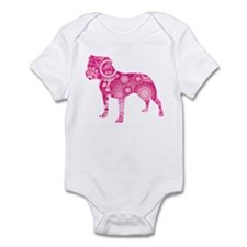 Staffordshire Bull Terrier Infant Bodysuit