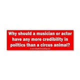 Poser Politicians Car Magnet 10 x 3