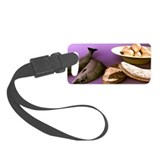 Protein food group, computer artwork - Luggage Tag