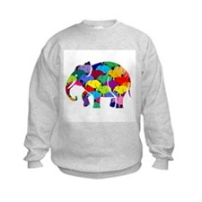 Elephants on Parade Jumper Sweater