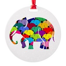 Elephants on Parade Ornament