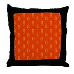 Decorating With Orange Throw Pillow