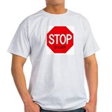 Stop Julien Ash Grey T-Shirt