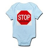 Stop Cristopher Infant Bodysuit