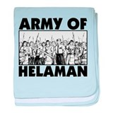 Army of Helaman baby blanket
