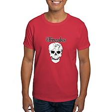 Das VW-Freaks Mascot - Branded Skull T-Shirt