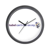 Unique Isabel Wall Clock