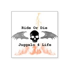 "Ride or Die Square Sticker 3"" x 3"""