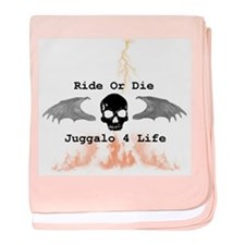 Ride or Die baby blanket