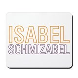 Cool Isabel Mousepad