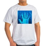 Fingerprint scanner, artwork - T-Shirt