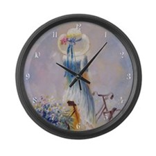 Vintage Bicycle Large Wall Clock