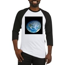Earth from space, artwork - Baseball Jersey