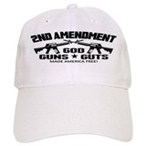God Guns Guts Baseball Cap