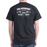 God Guns Guts T-Shirt