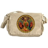Celtic phoenix Canvas Bags