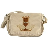 Cerltic Swans Messenger Bag