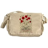 Celtic Poppies Messenger Bag
