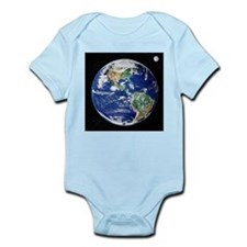 Earth from space, satellite image - Infant Bodysui