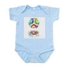 Insulin molecule - Infant Bodysuit
