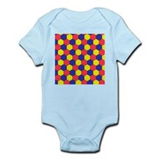 Uniform tiling pattern - Infant Bodysuit