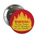 Hot Flash Button (red)