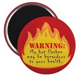 Hot Flash Magnet (red)