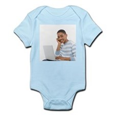 Laptop use - Infant Bodysuit