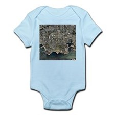 Plymouth, UK, aerial image - Infant Bodysuit