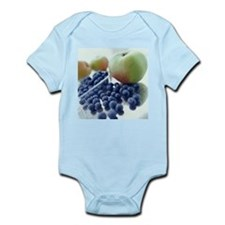 Apples and blueberries - Infant Bodysuit