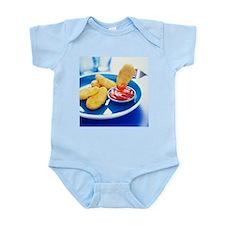 Chicken nuggets - Infant Bodysuit