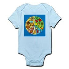 Balanced diet - Infant Bodysuit