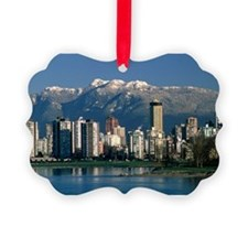 View of Vancouver, Canada - Picture Ornament