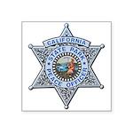 California Park Ranger Square Sticker 3