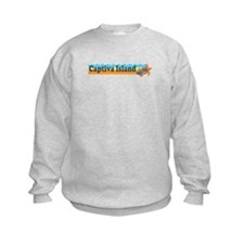 Captiva Island - Beach Design. Sweatshirt