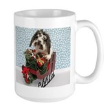 Dudley in Winter Sleigh Mug