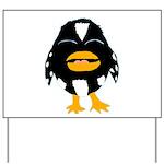 Laughing Penguin 1 Yard Sign