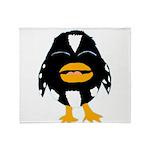 Laughing Penguin 1 Throw Blanket
